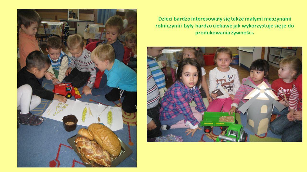A na koniec… Dzieci wspólnie z rodzicami wyklejały bułki używając ziarna, a także zorganizowały quiz dla rodziców wykorzystując zdobytą wiedzę podczas warsztatów.