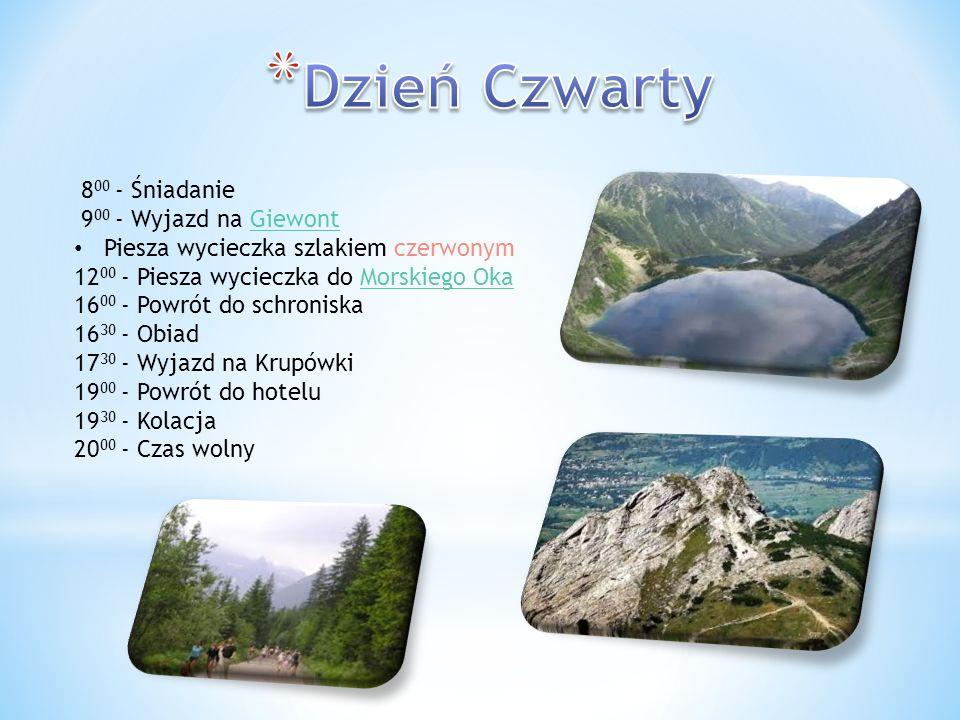 Giewont – masyw górski w Tatrach Zachodnich o wysokości 1894 m n.p.m.