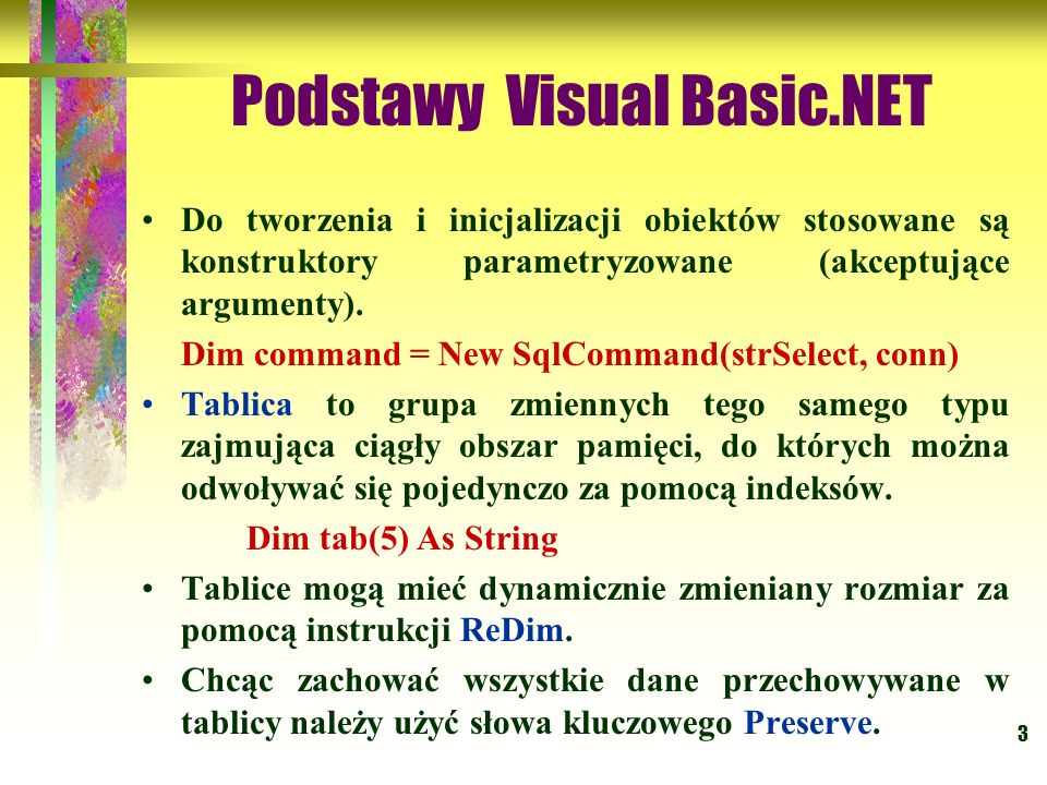 74 Kontrolki VB.NET Windows Control Library Po wygenerowaniu nowego projektu Windows Control Library kontrolki ActiveX automatycznie dziedziczą własności po klasieSystem.Windows.Forms.UserControl.