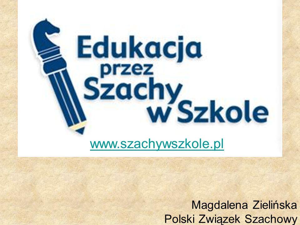 Magdalena Zielińska Polski Związek Szachowy www.szachywszkole.pl