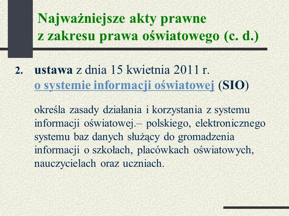 2.ustawa z dnia 15 kwietnia 2011 r.