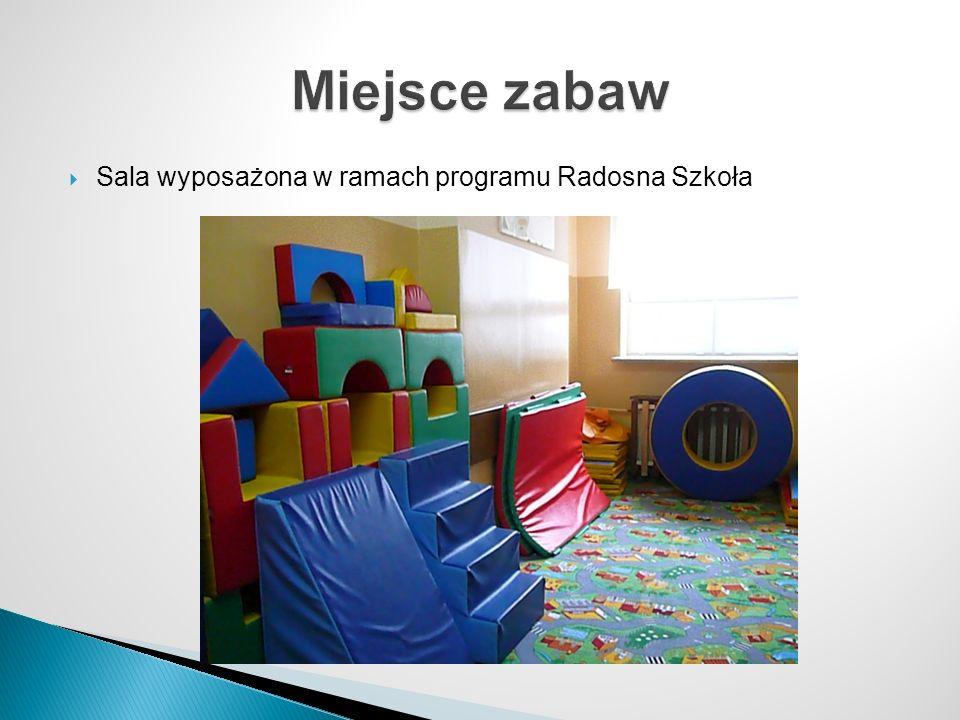 Sala wyposażona w ramach programu Radosna Szkoła