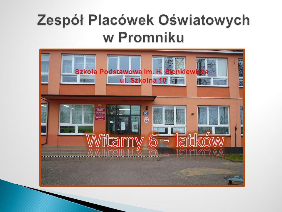 Szkoła Podstawowa im. H. Sienkiewicza ul. Szkolna 10