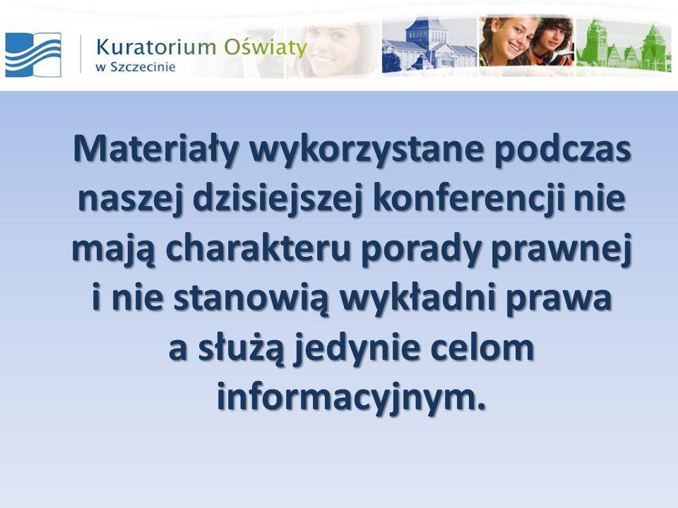 Materiały wykorzystane podczas naszej dzisiejszej konferencji nie mają charakteru porady prawnej i nie stanowią wykładni prawa a służą jedynie celom informacyjnym.