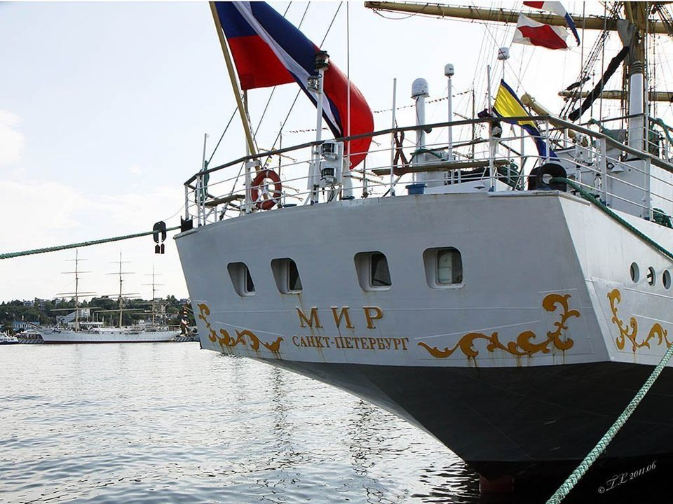 STS Mir został zbudowany w gdańskiej stoczni im.