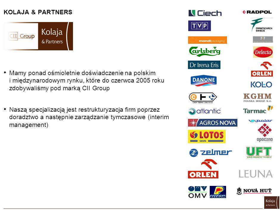 Mamy ponad ośmioletnie doświadczenie na polskim i międzynarodowym rynku, które do czerwca 2005 roku zdobywaliśmy pod marką CII Group Naszą specjalizac