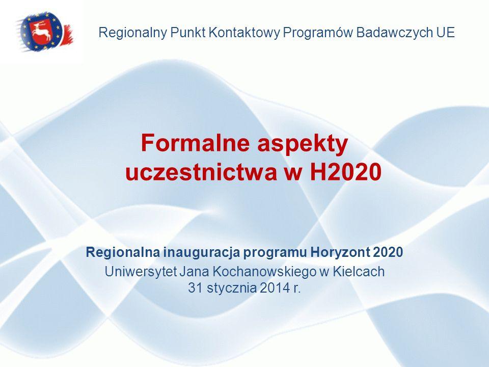 Nowy program ramowy – podstawowe zasady po staremu: Projekty będą wyłaniane w drodze konkursów.