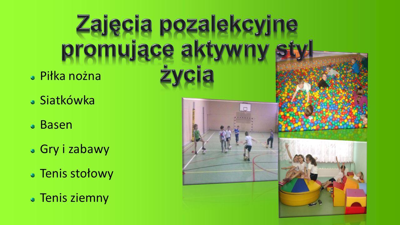 Piłka nożna Siatkówka Basen Gry i zabawy Tenis stołowy Tenis ziemny