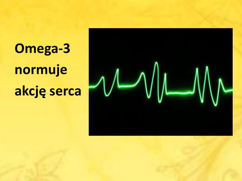 Omega-3 normuje akcję serca