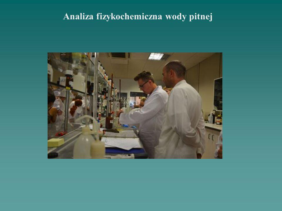 Analiza fizykochemiczna wody pitnej