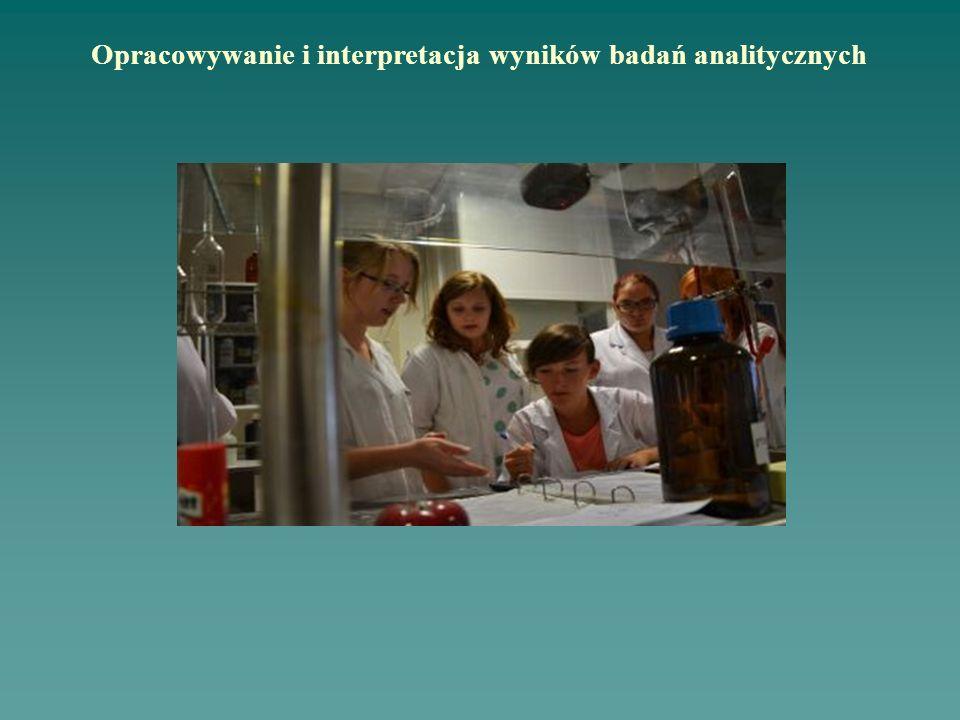 Opracowywanie i interpretacja wyników badań analitycznych