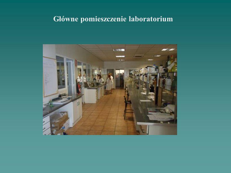 Główne pomieszczenie laboratorium