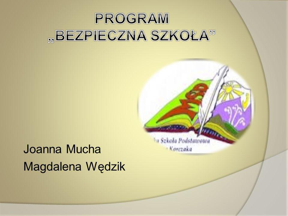 Joanna Mucha Magdalena Wędzik