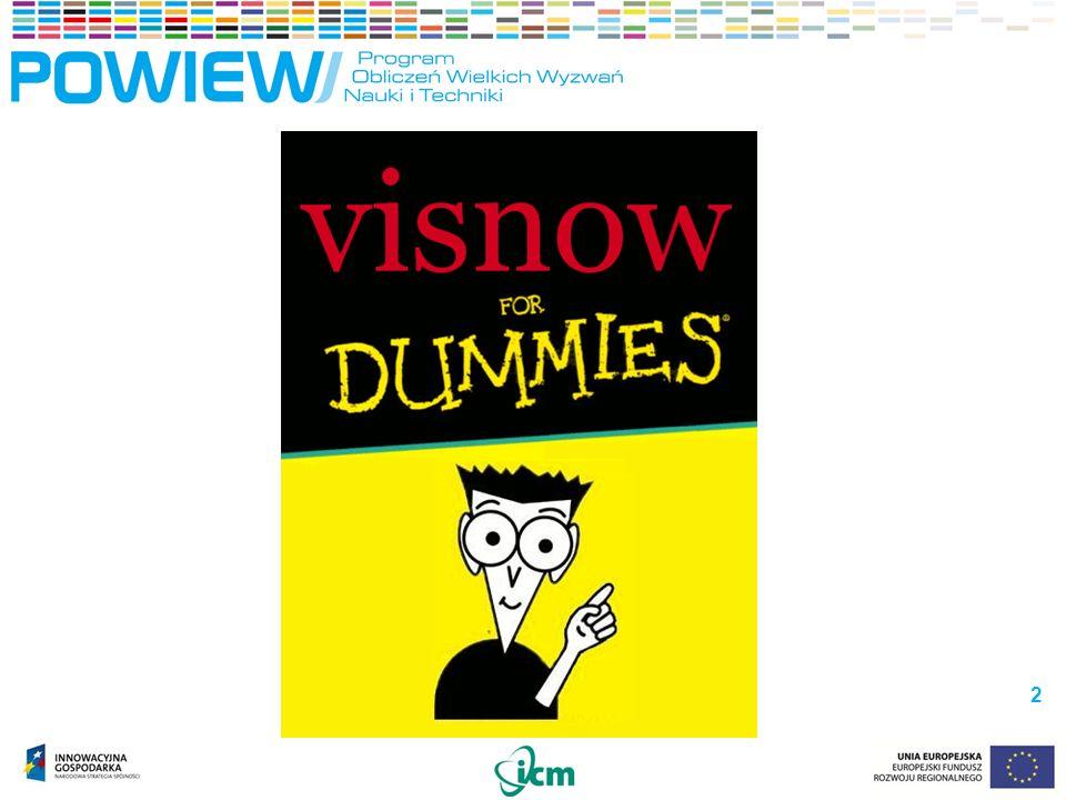 VisNow – interfejs użytkownika VisNow – interfejs użytkownika