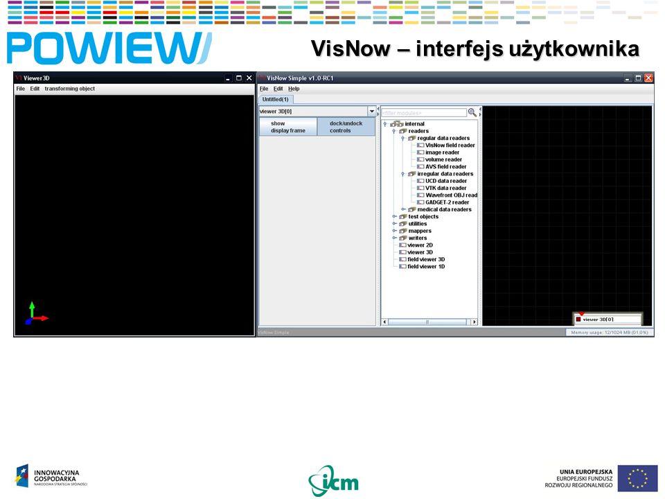 40 VisNow – instalacja oprogramowania VisNow – instalacja oprogramowania