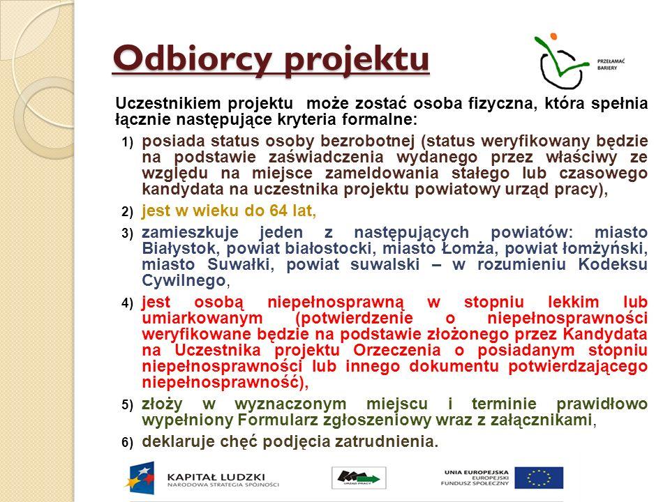Szczegółowe informacje na stronie www.up.podlasie.pl w zakładce: www.up.podlasie.pl