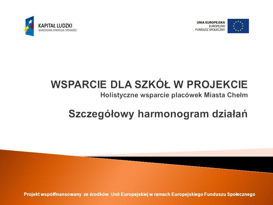 REALIZACJA ZADAŃ W PROJEKCIE Koordynacja i monitorowanieKoordynacja i monitorowanie realizacji projektu – koordynator projektu Realizacja RPWRealizacja RPW w danej placówce - SORE.