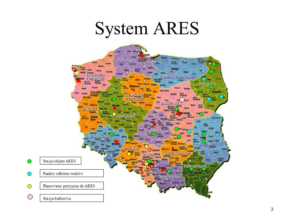 4 Prowadzący stacje demontażu i rozwijający system ARES Prowadzący stacje demontażu mają co najmniej 5 letni staż w prowadzonej działalności.