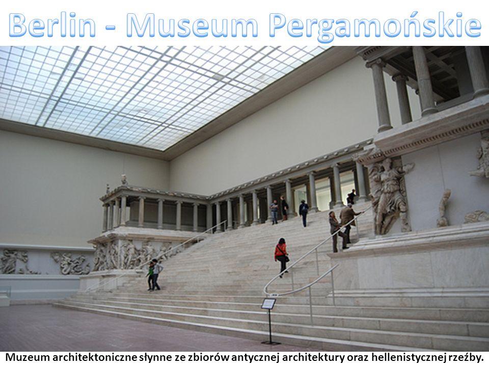 Muzeum architektoniczne słynne ze zbiorów antycznej architektury oraz hellenistycznej rzeźby.