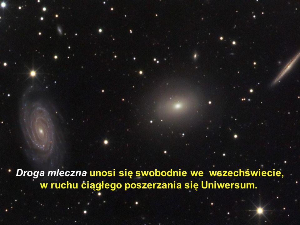 Słońce znajduje się w odległości 27.000 lat świetlnych od centrum Galaktyki i potrzebuje na pełny obrót 200 milionów lat !