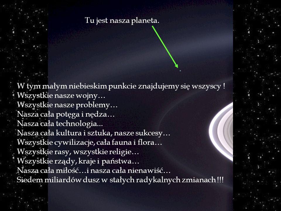Obserwuj chwilę to zdjęcie... Zostało ono wykonane w roku 2004 przez automatyczny statek kosmiczny C assini-Juygens, przy osiągnięciu pierścieni plane
