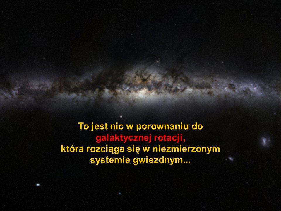 Jak wielki jest człowiek, że z tej małej cudownej plamki może odkrywać i podziwiać ogromny wszechświat !