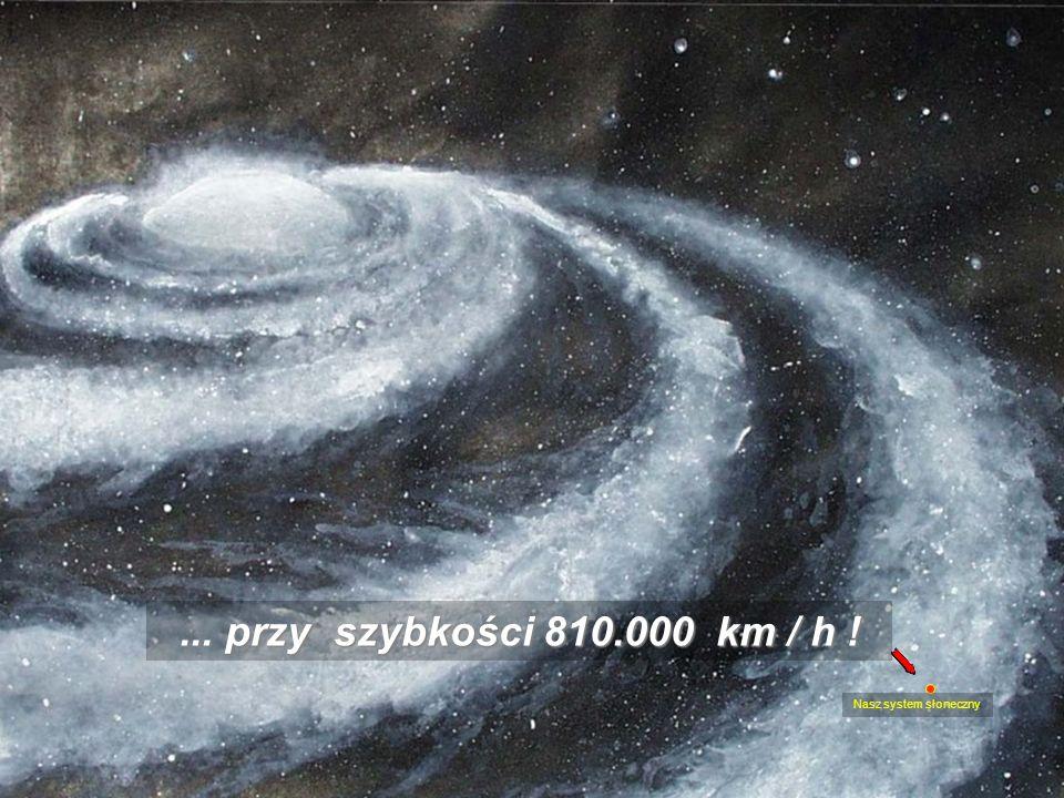 To jest nic w porownaniu do galaktycznej rotacji, która rozciąga się w niezmierzonym systemie gwiezdnym...