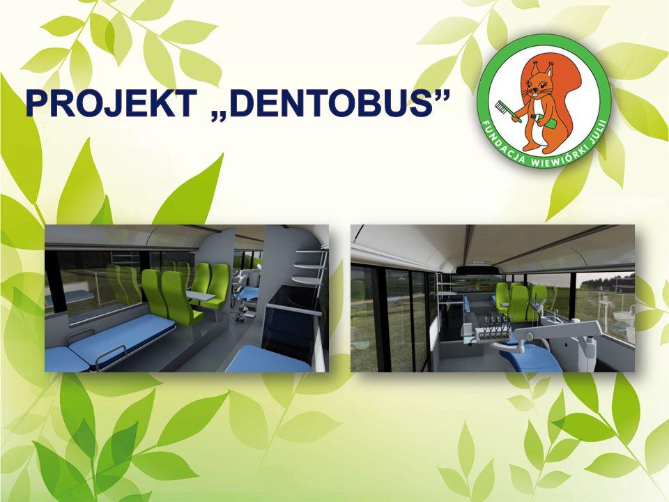 Koncepcja mobilnego dentobusu zakłada wyprodukowanie jednego lub dwóch autobusów z wyposażeniem gabinetu stomatologicznego, które będą przemierzać całą Polskę celem zbadania stanu uzębienia, a następnie zapewnienia pomocy stomatologicznej najmłodszym.