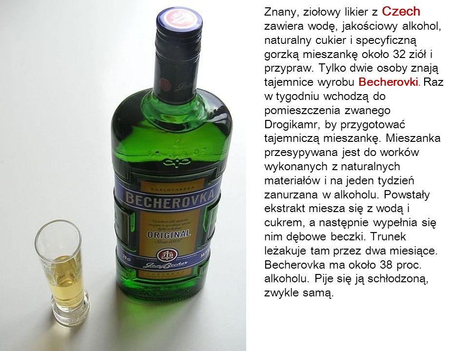 Mini Alkoholowa Mapa Świata Degustacja lokalnych alkoholi to dla niektórych atrakcyjna część podróży