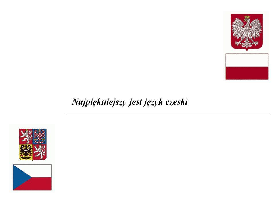 Najpiękniejszy jest język czeski