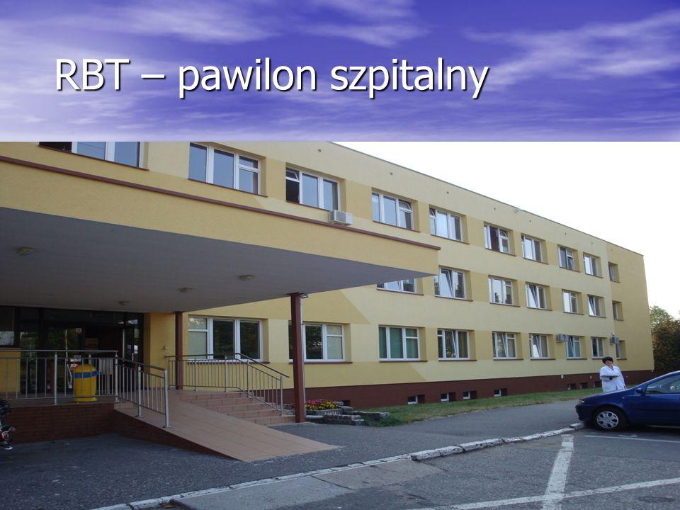 RBT- niski parter pawilonu szpitalnego