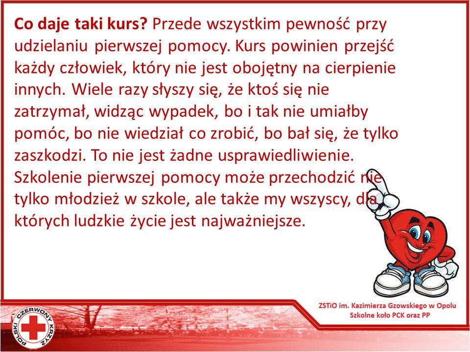 Zadania: 1.Uzupełnienie i utrwalenie wiedzy z zasad udzielania pierwszej pomocy przedlekarskiej.