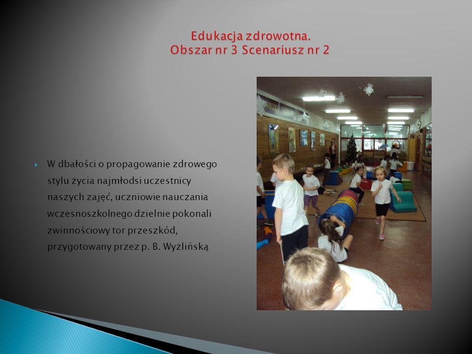 Istotę znaczenia aktywności fizycznej przedstawiła i przeprowadziła w części głównej zajęć p.
