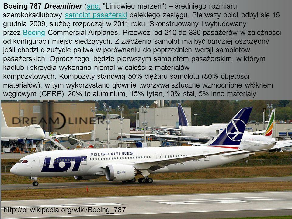 Boeing 787 Dreamliner (ang.