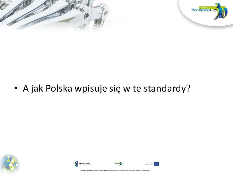 A jak Polska wpisuje się w te standardy