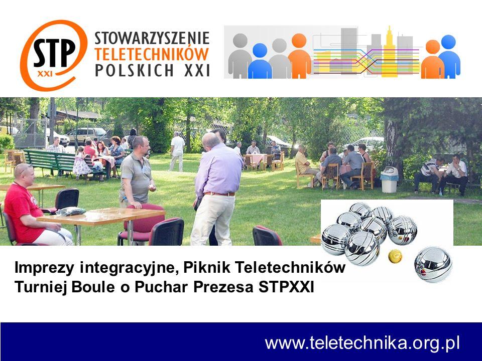 www.teletechnika.org.pl Imprezy integracyjne, Piknik Teletechników Turniej Boule o Puchar Prezesa STPXXI