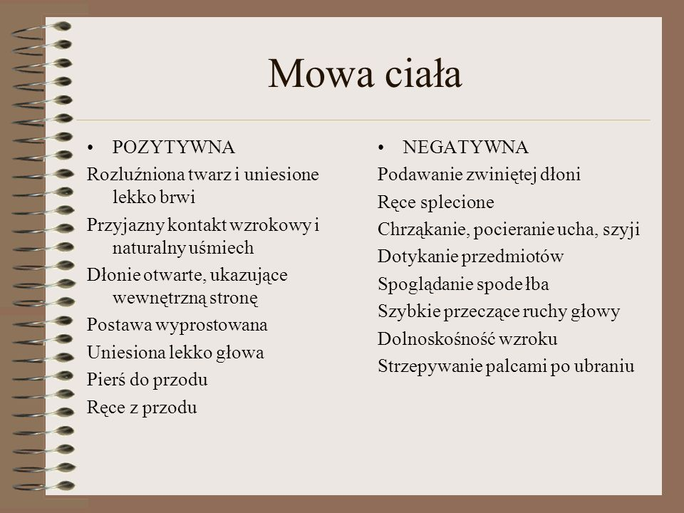 Zachowania werbalne-NIE STOSOWAĆ!!.