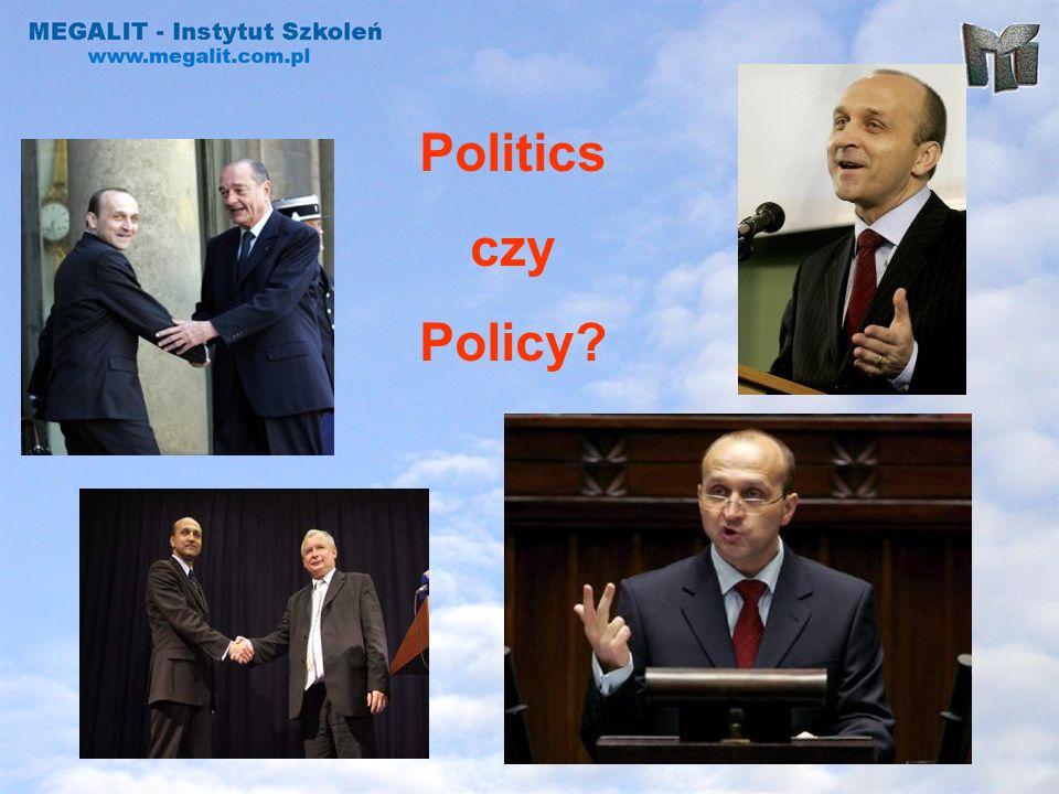 Politics czy Policy?
