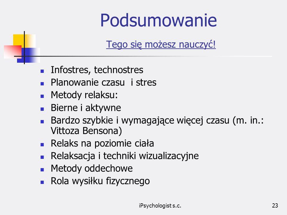 iPsychologist s.c.24 Prowadzący zajęcia Wojciech Warecki Psycholog, realizator i twórca projektów szkoleniowych w zakresie kierowania zespołami pracowniczymi, zarządzania zmianą w firmie, optymalizacji procesów decyzyjnych etc.