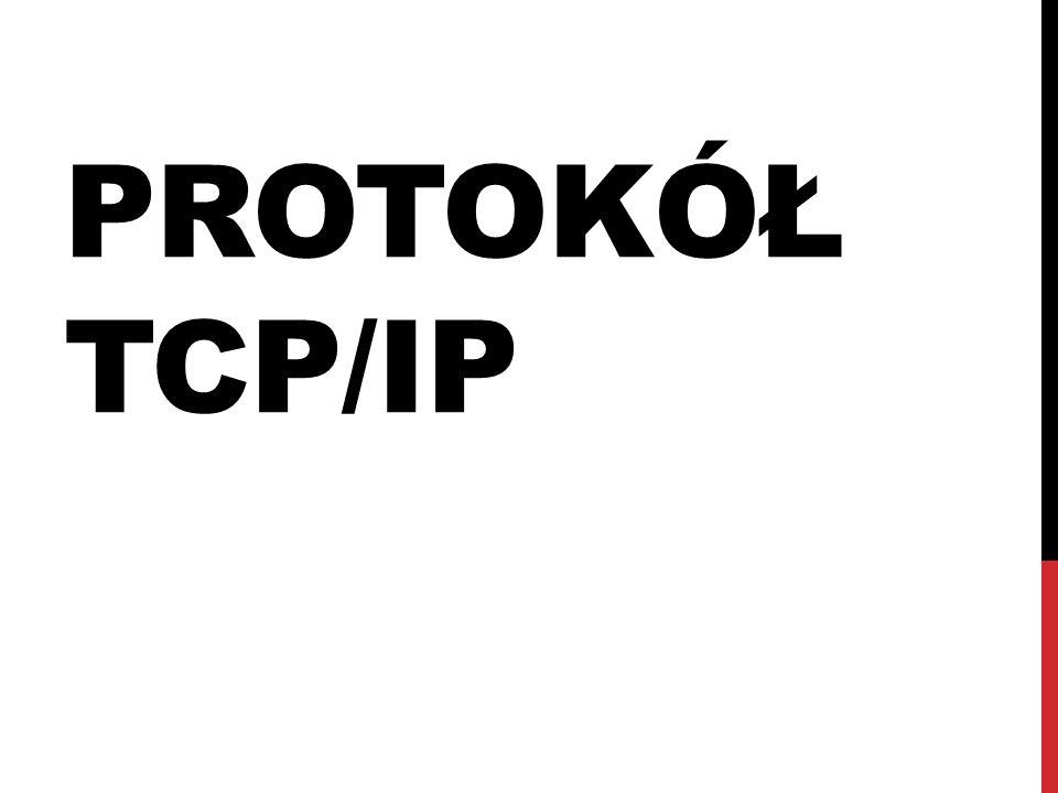 PROTOKÓŁ TCP/IP