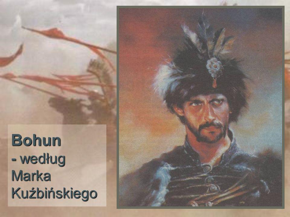 Bohun - według Marka Kuźbińskiego