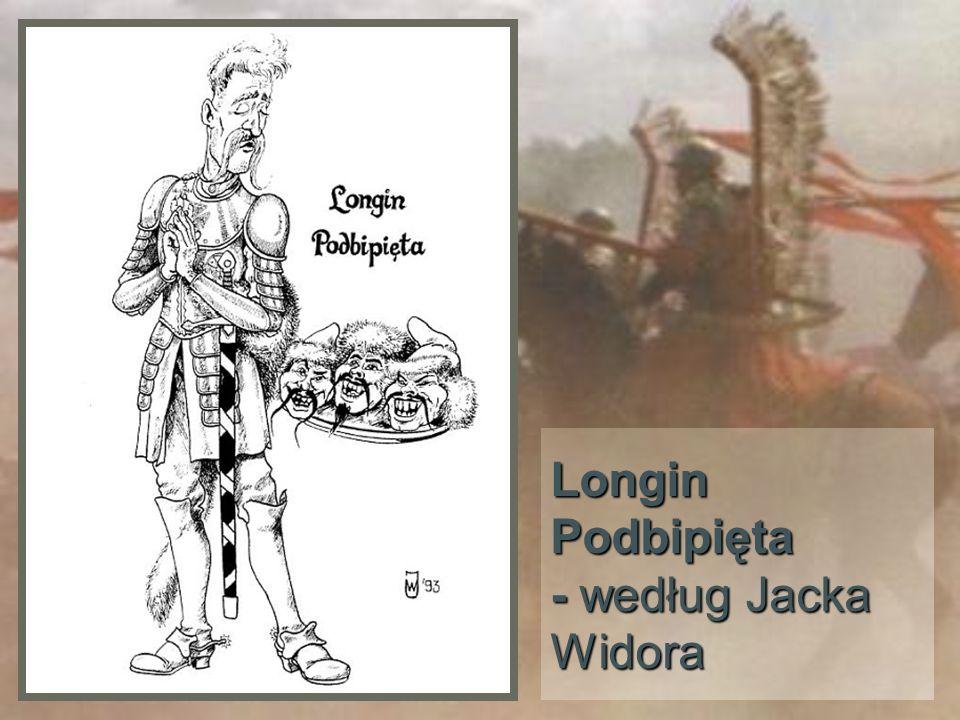Longin Podbipięta - według Jacka Widora
