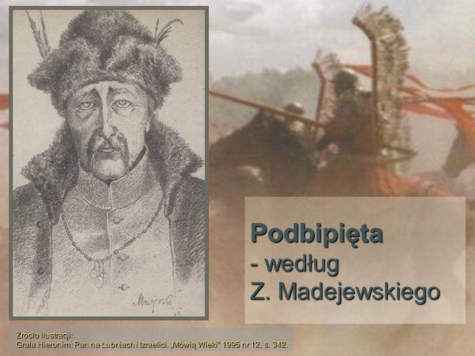 Podbipięta - według Z. Madejewskiego Źródło ilustracji: Grala Hieronim: Pan na Łubniach i Izraelici. Mówią Wieki 1995 nr 12, s. 342.