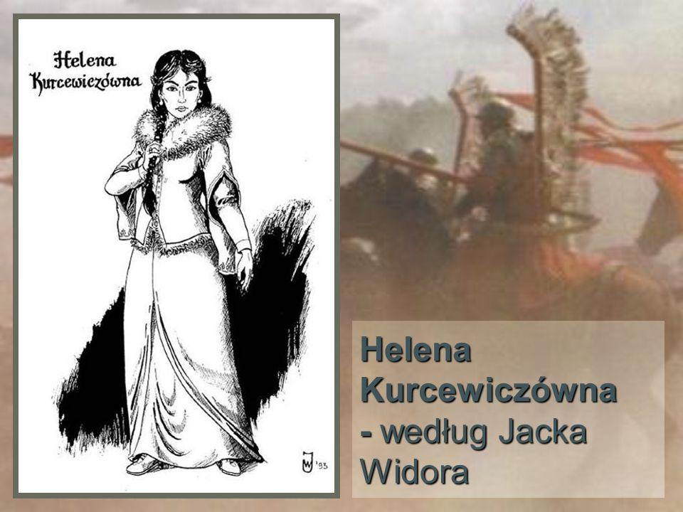 Helena Kurcewiczówna - w karykaturze Dariusza Łabędzkiego