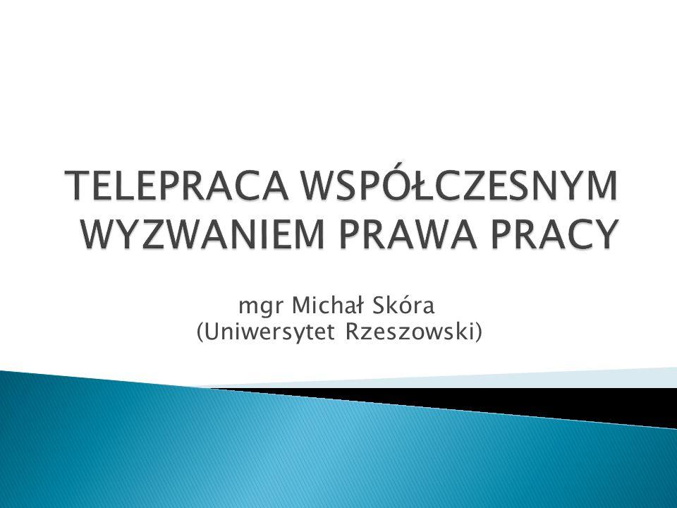 mgr Michał Skóra (Uniwersytet Rzeszowski)