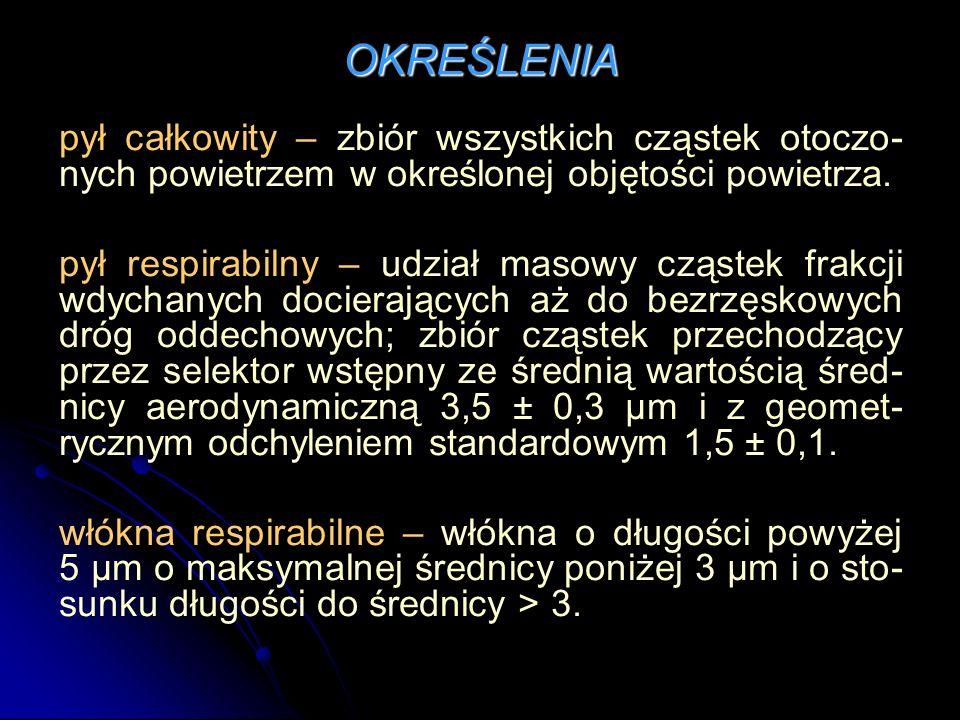 SUBSTANCJE CHEMICZNE Przykładowe substancje rakotwórcze (zgodnie z rozporządzeniem Ministra Zdrowia z dnia 24.07.2012r.