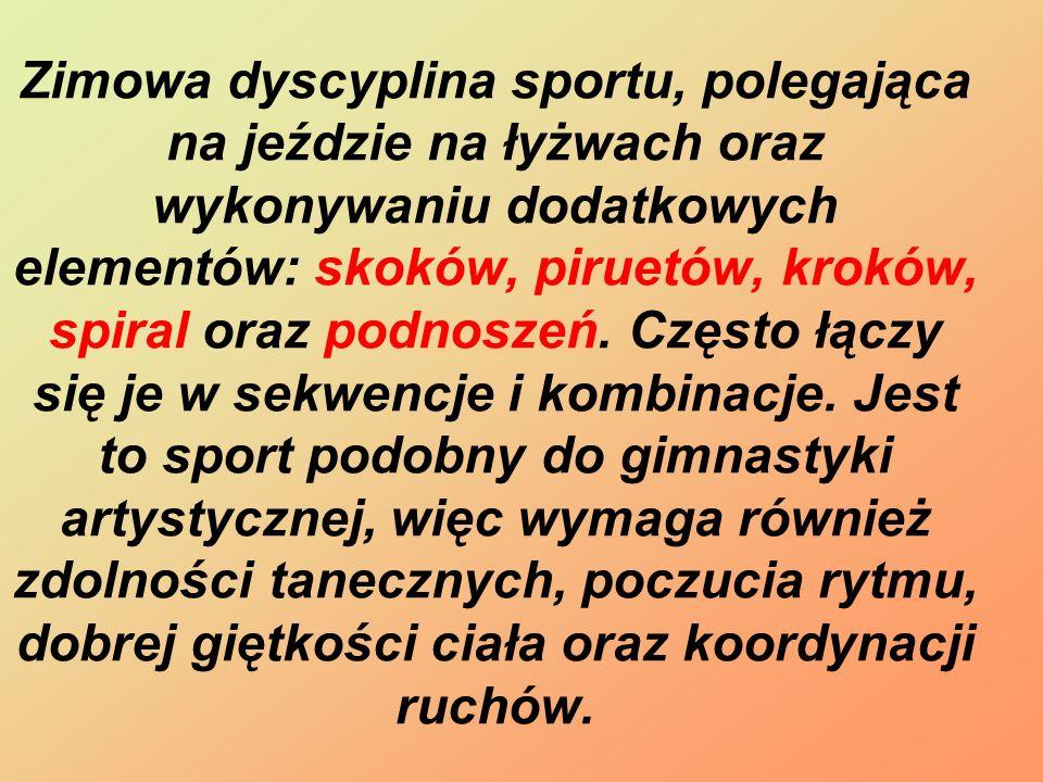 Polscy zawodnicy Anna Jurkiewicz - 1m-Mistrzostwa Polski 2010-2011 Przemysław Domański -Mistrz Polski Seniorów w kategorii Solistów Joanna Sulej i Mateusz Chruściński -18 miejsce Vancouver 2010-para sportowa