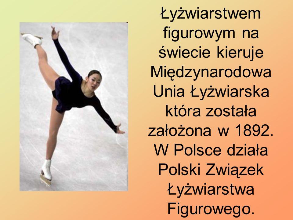 Łyżwiarstwem figurowym na świecie kieruje Międzynarodowa Unia Łyżwiarska która została założona w 1892. W Polsce działa Polski Związek Łyżwiarstwa Fig