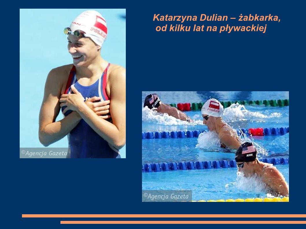 Katarzyna Dulian – żabkarka, od kilku lat na pływackiej 'emeryturze'