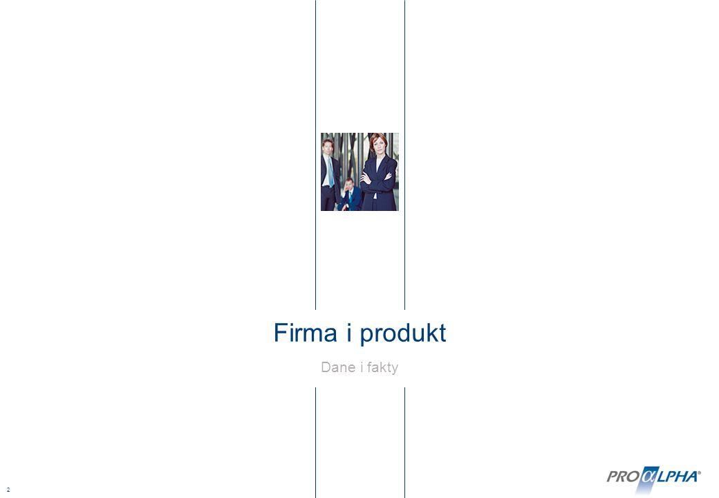 2 Firma i produkt Dane i fakty